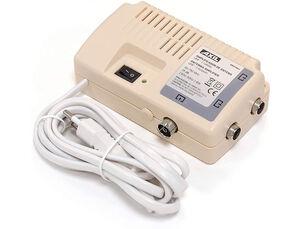 AMPLIFICADOR DE ANTENA ENGEL AM0348E5 INTERIOR GANACIA DE 25DB Y 15DB EN VHF 2 SALIDAS FILTRO LTE 5G