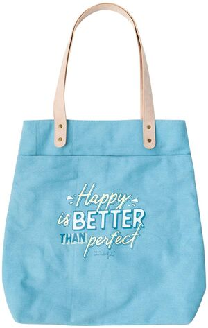 BOLSA DE ASAS MR WONDERFUL HAPPY IS BETTER THAN PERFECT