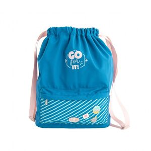 MOCHILA SACO MR WONDERFUL GO FOR IT