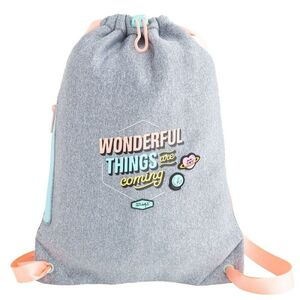 MOCHILA SACO PEQUEÑO MR WONDERFUL WONDERFUL THINGS ARE COMING