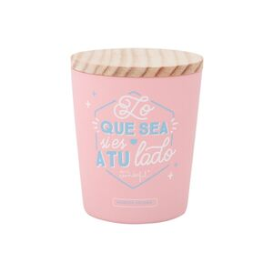 VELA CON TAPA MR WONDERFUL LO QUE SEA SI ES A TU LADO