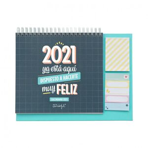 CALENDARIO SOBREMESA MR WONDERFUL 2021 YA ESTA AQUI
