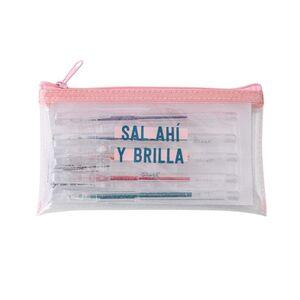 SET DE 5 BOLIS CON PURPURINA MR WONDERFUL SAL DE AHI Y BRILLA