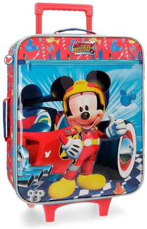 TROLLEY 50CM CON CARRO MICKEY WINNER