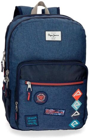 MOCHILA DOBLE ADAPTABLE 44 CM PEPE JEANS PAUL