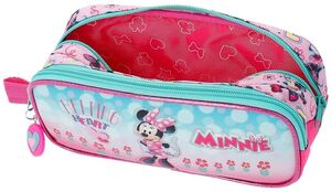 ESTUCHE DOBLE MINNIE HEART