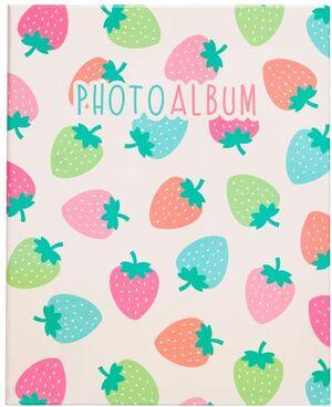 ALBUM 200 FOTOS 13X20 CM STRAWBERRY