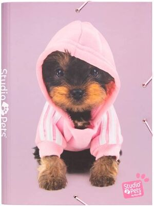 CARPETA SOLAPAS STUDIO PETS DOGS 2019