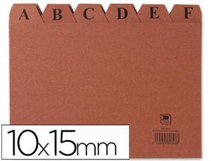 INDICE FICHERO CARTON Nº 3 100X150 MM