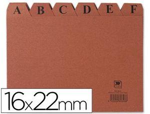 INDICE ALFABETICO CARTON 24 POS. 215X160