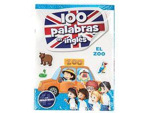 CUADERNO COLOREAR 100 PALABRAS EN INGLES