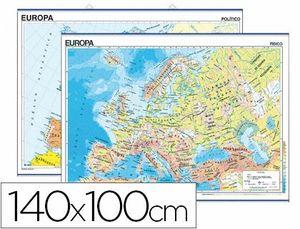 MAPA EUROPA FISICO/POLITICO