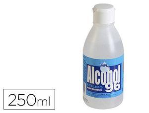 BOTE 250 ML ALCOHOL 96º