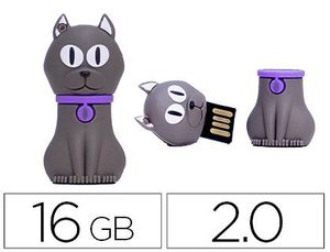 MEMORIA USB TECHONETECH FLASH DRIVE 16 GB 2.0 FELIX THE CAT