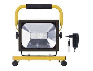 FOCO PORTATIL SUNMATIC LED EMOS 160W 1500 LUMENES 6500 KELVINK 2,5 HORAS BATERIA LI-ION 4400MAH CARG