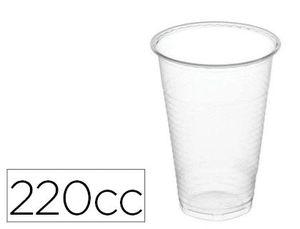 PACK 100 VOASOS 220CC, TRANSPARENTE
