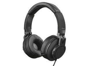 AURICULAR TRUST DJ URBAN LONGITUD CABLE 1,2 M CON MICROFONO Y BOTON CONTROL CONEXION JACK 3.5 MM