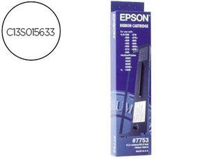 CINTA IMPRESORA EPSON LQ-200 300 300C 300+II 500 550570 570+ 580 800 850 870 1500 NEGRA (7753)