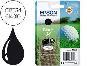 INK-JET EPSON 34 WORKFORCE PRO WF-3720 / WF-3720DWF / WF-3725DWF NEGRO 350 PAGINAS