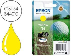 INK-JET EPSON 34 WORKFORCE PRO WF-3720 / WF-3720DWF / WF-3725DWF AMARILLO 300 PAGINAS