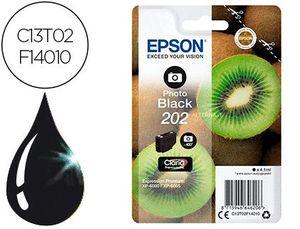 INK-JET EPSON 202 XP-6000 / XP-6005 / XP-6100 / XP-6105 PHOTO NEGRO 400 PAG