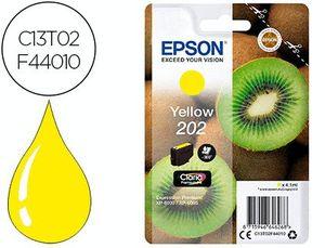 INK-JET EPSON 202 XP-6000 / XP-6005 / XP-6100 / XP-6105 AMARILLO 300 PAG