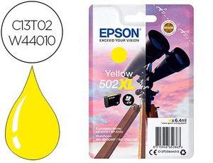 INK-JET EPSON 502 XL EXPRESSION HOME XP 5100 / 5105 WORKFORCE WF 2860 / 2860DWF AMARILLO 470 PAGINAS