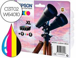 INK-JET EPSON 502 XL XP-5105 MULTIPACK NEGRO AMARILLO CIAN Y MAGENTA