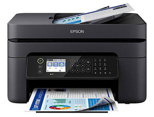 EQUIPO MULTIFUNCION EPSON WORKFORCE WF-2850DWF TINTA COLOR 10 PPM / 16 PPM IMPRESORA ESCANER COPIADO