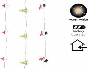 LUCES LED NAVIDAD 190 CM 20 LUCES