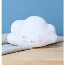 LAMPARA NUBE COLOR BLANCO LITTLE LOVELY