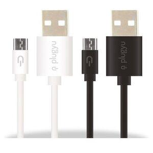 CABLE PLUGYU -MICRO USB-1.5A BLANCO
