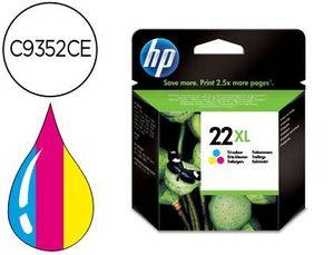 INK-JET HP 22XL TRICOLOR -440PAG- HP DESKJET 3920 3940 D1360 D1460 D1470 D1560 D2330 D2360 D2430