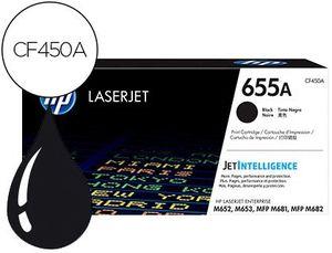 TONER HP 655A LASERJET M652 / M653 / MFP M681 / MFP M682 NEGRO 12500 PAGINAS