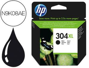 CARTUCHO HP 304 XL NEGRO N9K08AE