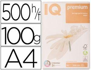 PAPEL IQ PREMIUM A4 100 GR PAQUETE DE 500 HOJAS