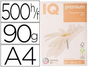 PAPEL FOTOCOPIADORA IQ PREMIUM A4 90 GR PAQUETE 500 HOJAS