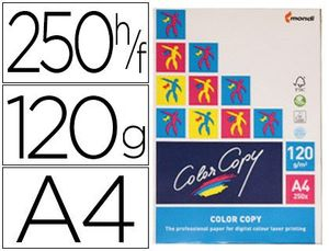 PAPEL COLOR COPY A4 120GR BCO P-250
