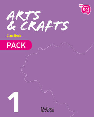 NEW THINK DO LEARN ARTS & CRAFTS 1. CLASS BOOK + STORIES PACK
