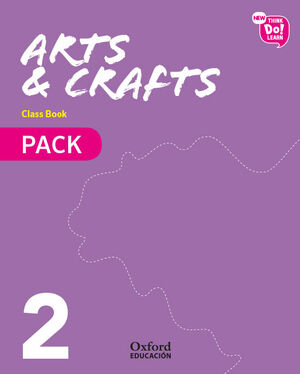 NEW THINK DO LEARN ARTS & CRAFTS 2. CLASS BOOK + STORIES PACK