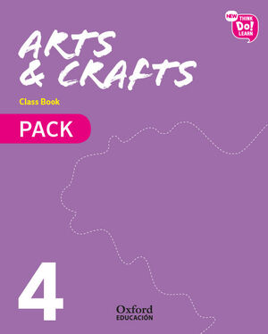 NEW THINK DO LEARN ARTS & CRAFTS 4. CLASS BOOK PACK
