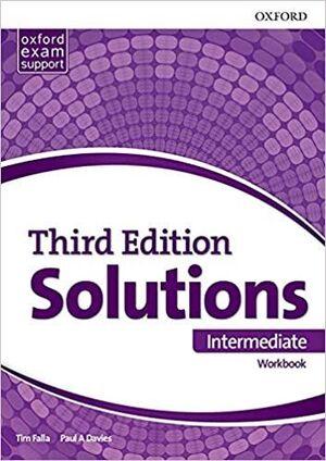 SOLUTIONS INTERMEDIATE (WORKBOOK) THIRD ED. (B1-B2)