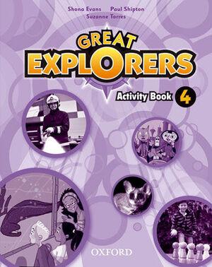 GREAT EXPLORERS 4. ACTIVITY BOOK