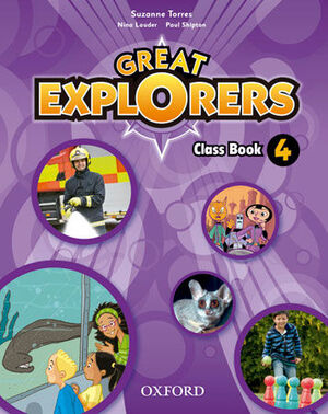 GREAT EXPLORERS 4. CLASS BOOK PACK
