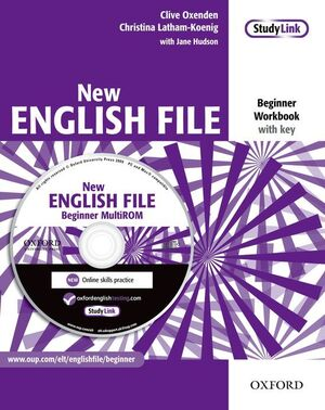 NEW ENGLISH FILE BEGINNER. WORKBOOK WITH KEY AND MULTI-ROM PACK