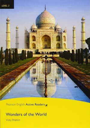 PEARSON ACTIVE READER LEVEL 2: WONDERS OF THE WORLD BOOK AND MULTI-ROM WITH MP3