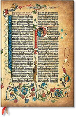 LIBRETA PAPERBLANKS LISA GRANDE T/D GUTENBERG BIBLE PARABOLE