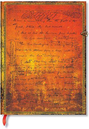 LIBRETA PAPERBLANKS LISA ULTRA T/D H.G. WELLS 75 TH ANNIVERSARY