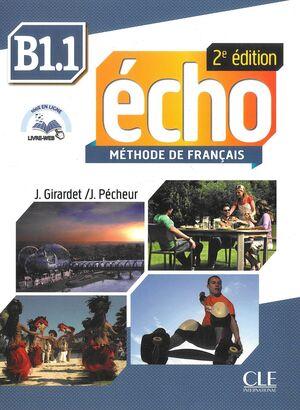 ECHO B1.1  LIVRE DE L'ÉLÈVE NE