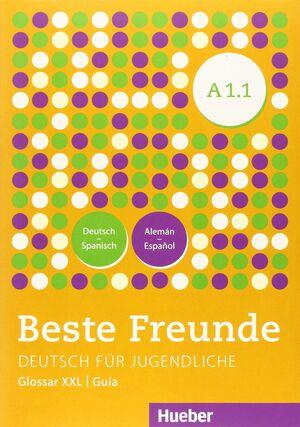 BESTE FREUNDE A1.1 KURSB.+XXL (ALUM.)